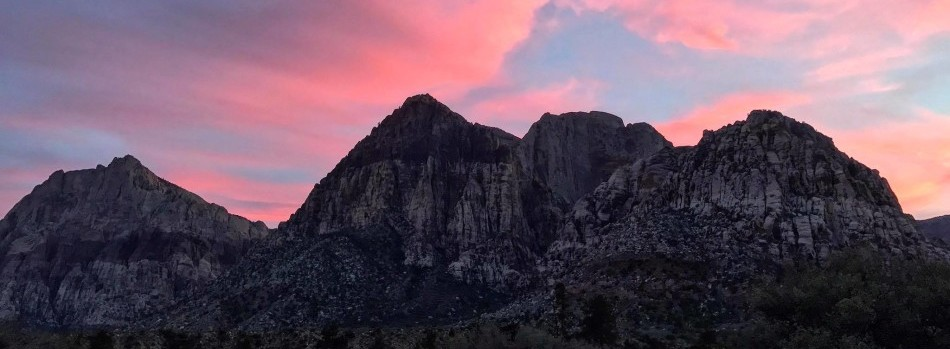 Red Rock Sunset Pic Patrick Sylvester